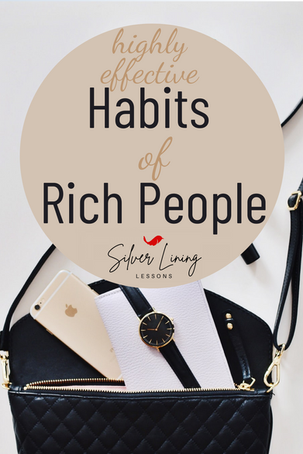10 Highly Effective Habits of Rich People