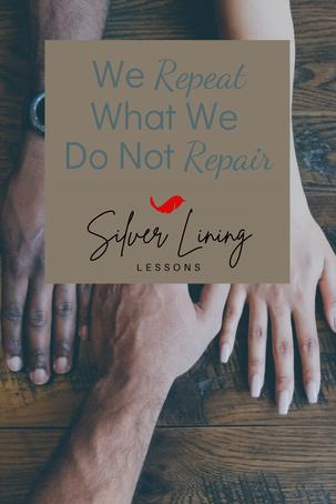 We Repeat What We Do Not Repair