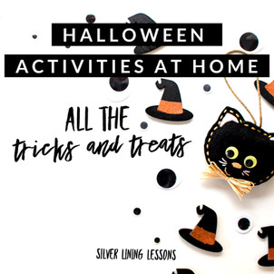 Halloween Activities at Home: All the Tricks and Treats