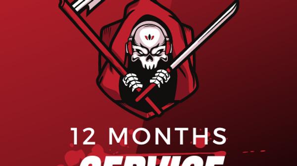 12 Months Service