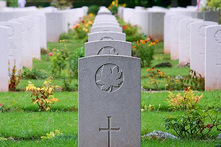 Beny sur mer cemetery