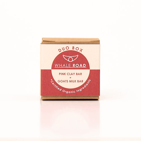 Duo Box - Pink Clay and Goats Milk