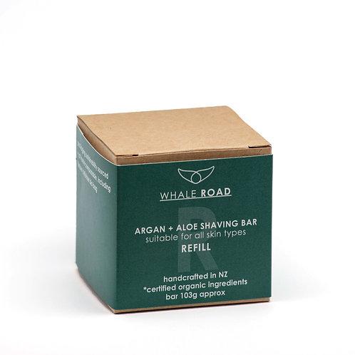 Argan + Aloe Shaving Bar