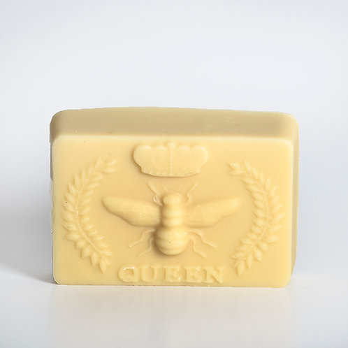 Honey and Beeswax Bar made with certified organic ingredients.  Unscented, rich, creamy and moisturizing