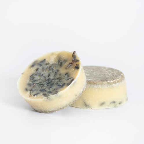 Lavender cocoa butter bath melt, certified organic ingredients, beautiful fragrance from lavender essential oil