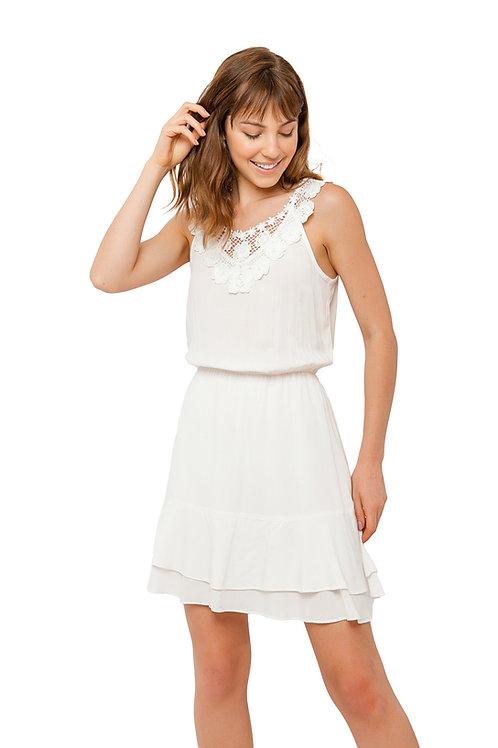 Vestido Viscose Branco