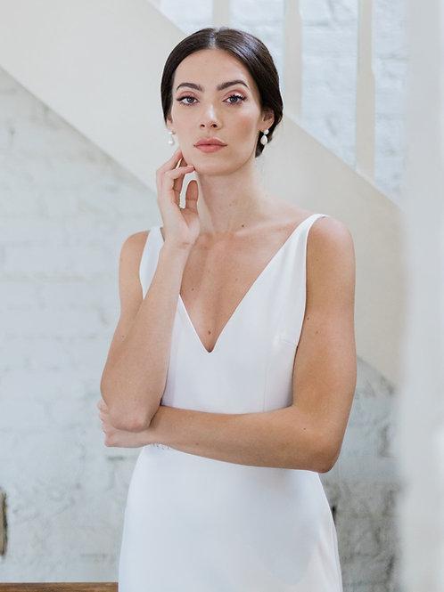Vestido Liso Minimalista