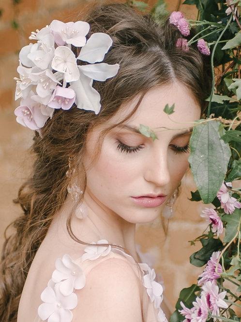 Grinalda Flores Rosa Quartz