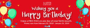 Philippine Science Centrum: FREE BIRTHDAY PASS!