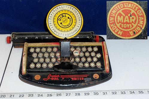 """Toy Typewriter by """"Marx Toys"""""""