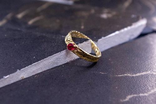 "Кольцо ""Золото ретикуляции"""