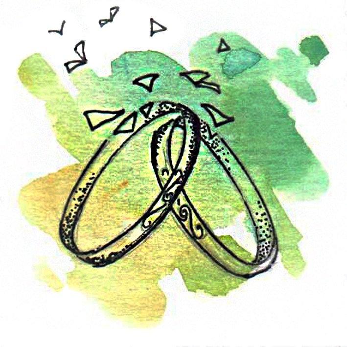 Мастер-класс парные обручальные кольца