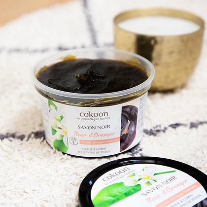 Savon noir à la Fleur d'Oranger (250 g)