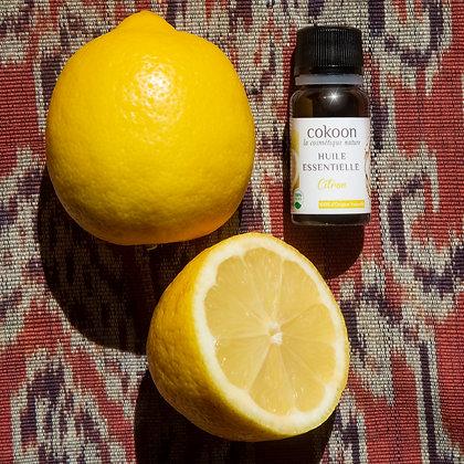 Huile essentielle de Citron (10 ml)