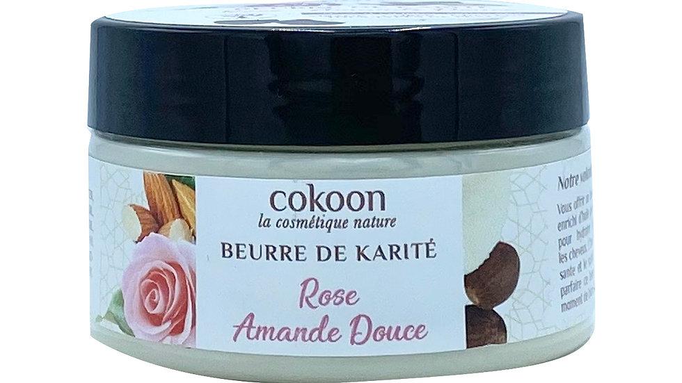 Beurre de karité rose - amande douce