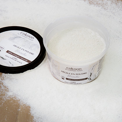 Argile blanche 100 % pure (200 g)