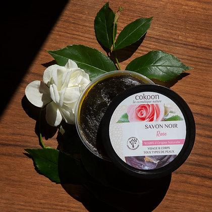 Savon noir à la Rose (250 g)
