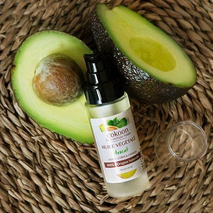 Huile végétale d'Avocat 100 % pure