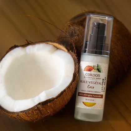 Huile végétale de Coco 100 % pure