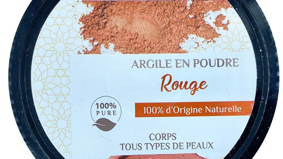Argile rouge pure (200 g)