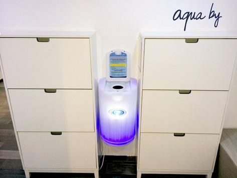 1 puis 2 puis  3 puis 4 EXTRACTO pour l'enseigne Aqua by Une vraie success story à Paris !
