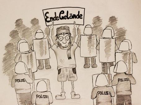 Activists block Rhineland coalfield: Ende Gelände climate action