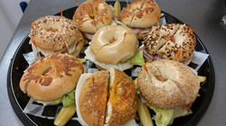 JT's Bagels party tray