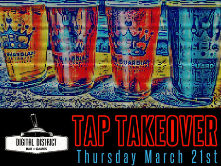 Guardian takes over the taps at Digital District arcade bar in Anderson this Thursday