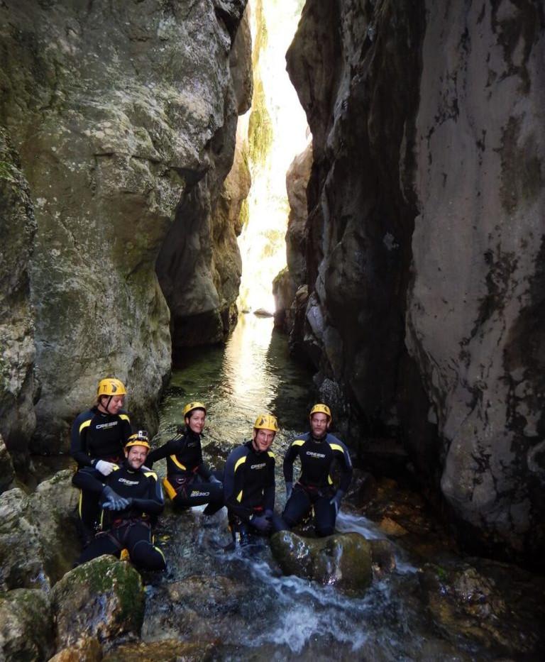 Durmitor Paradise Canyoning Tour Nevidio