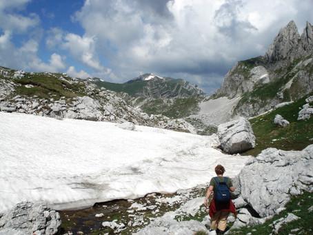 Bobotov kuk, challenge to mountaineers!