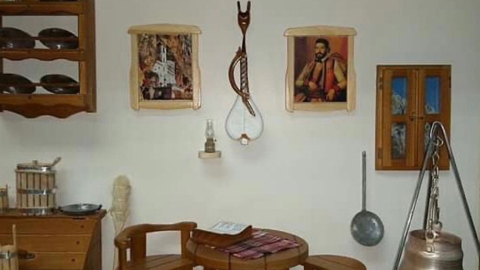 Old traditional Montenegro room 2