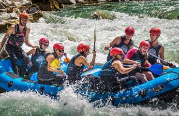 Durmitor Paradise Rafting France guests