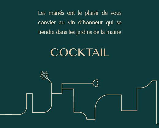 Invitation cocktail