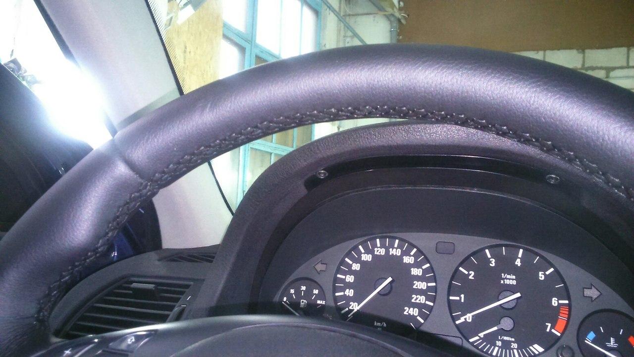 АвтоБлеск перетяжка руля