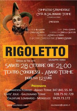 Rigoletto, 28 Ottobre 2017
