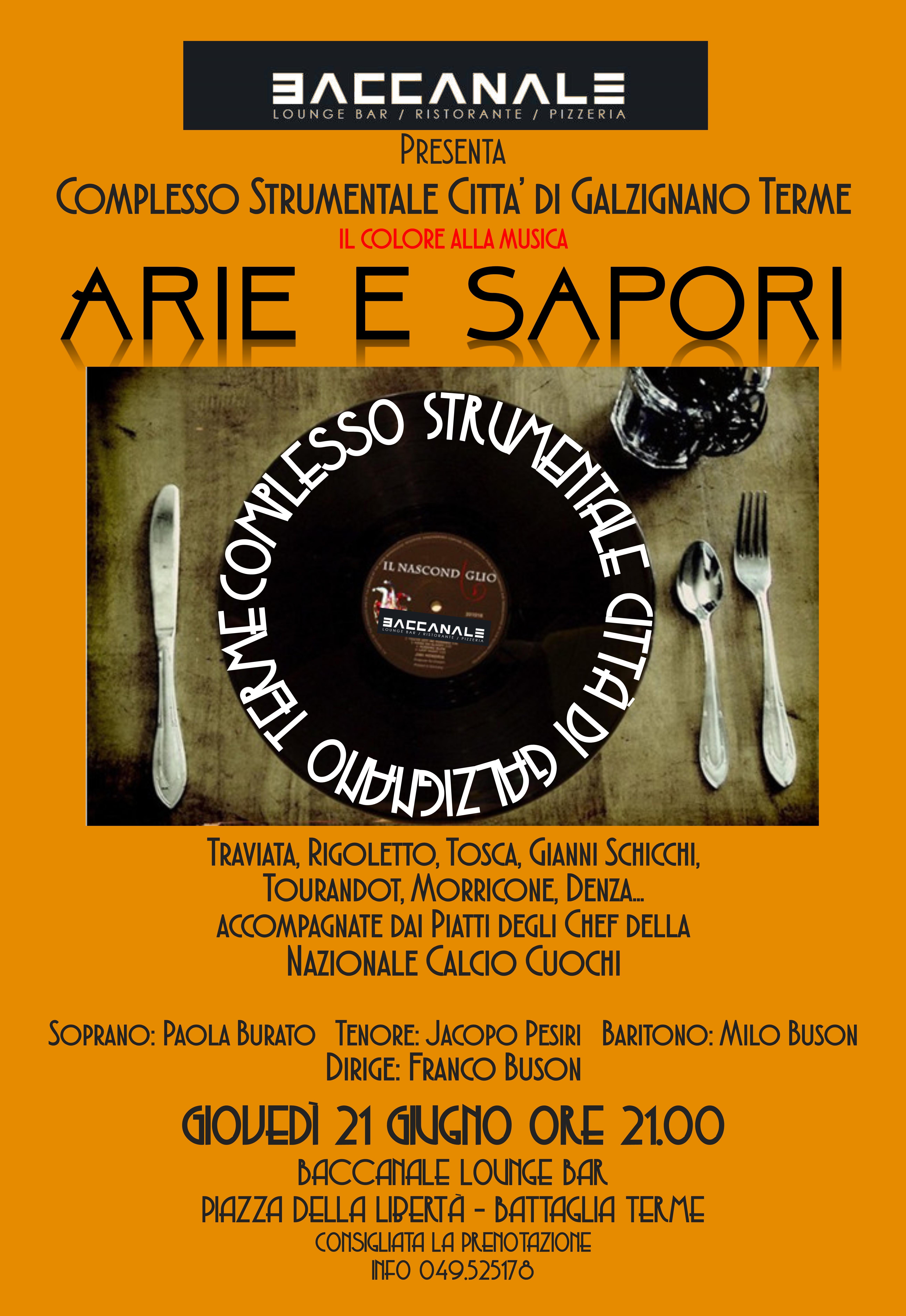 ARIE e SAPORI 21.06.2018