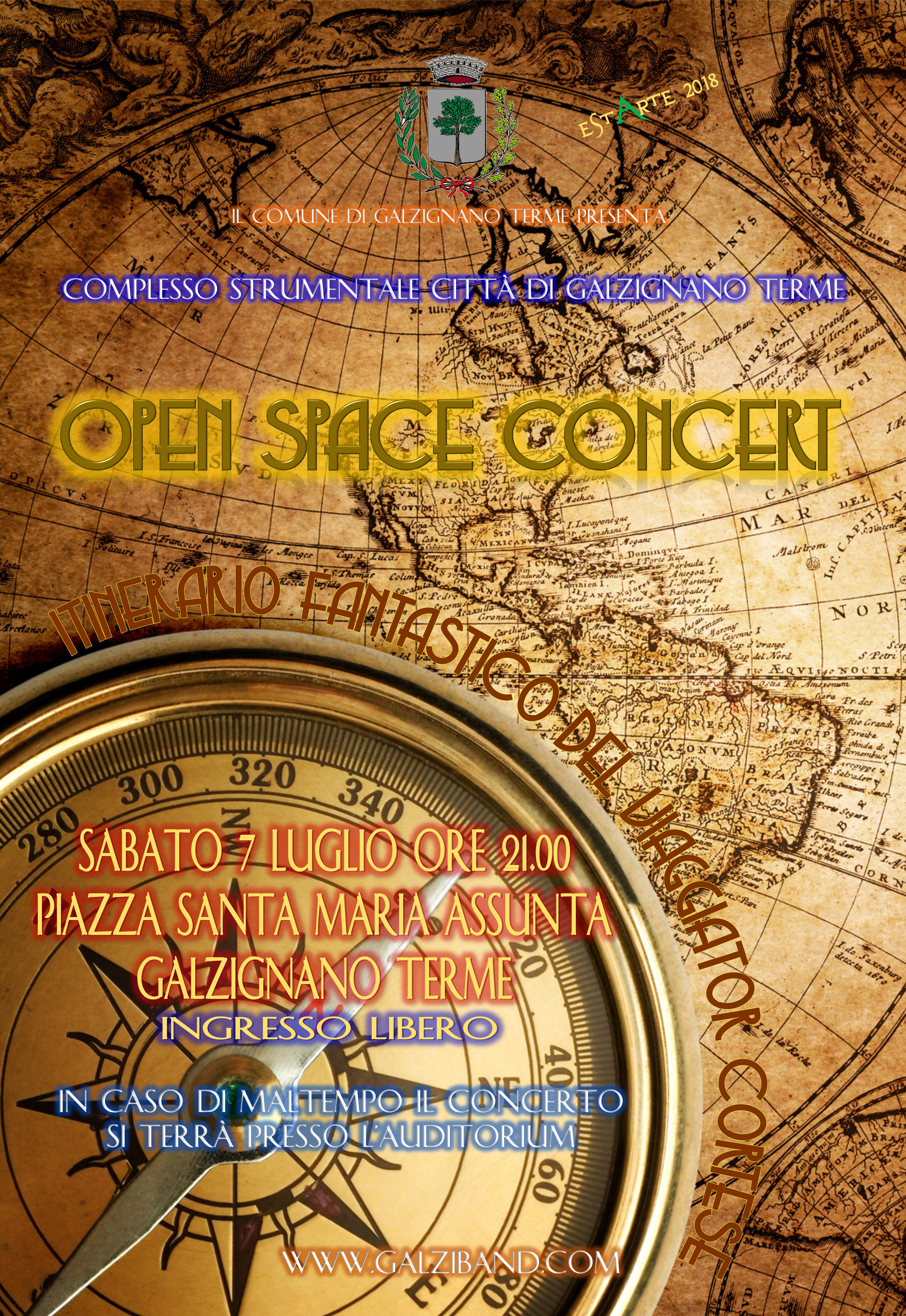 OPEN SPACE CONCERT 07.07.2018
