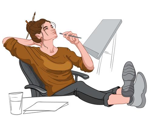 Làm thế nào để vượt qua những nỗi sợ khi làm freelance writer?