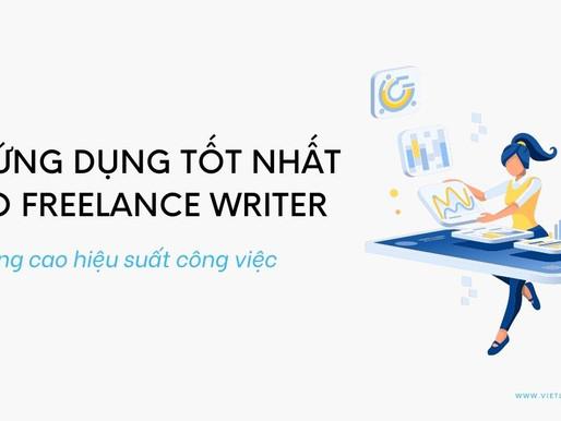 15 ứng dụng giúp tăng năng suất làm việc cho Freelance Writer