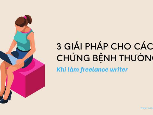 3 giải pháp cho chứng đau lưng, mỏi cổ và các vấn đề về tay khi làm freelance writer