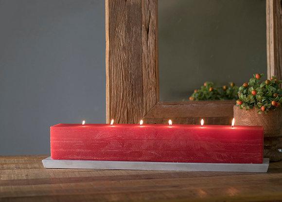 Large Layered Brick Candles