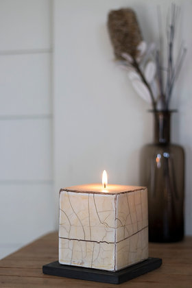 Petrified Wood Candles 1 wick