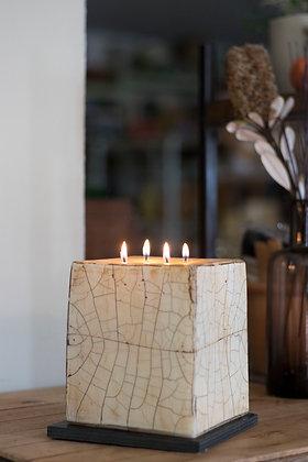 Petrified Wood Candles 4 wick