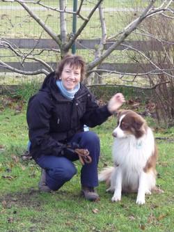 Ingrid Bertels mit Batcher