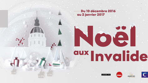 NOËL AUX INVALIDES : LE 1ER MARCHÉ « MADE IN FRANCE » & UN SAPIN SIGNÉ PERSPECTIVE