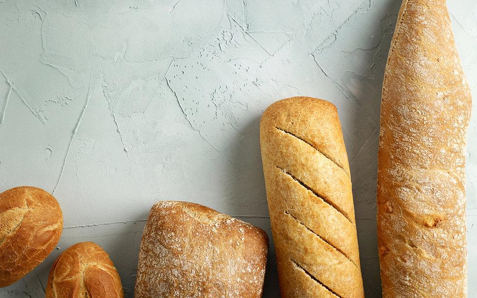 田舎風のパン