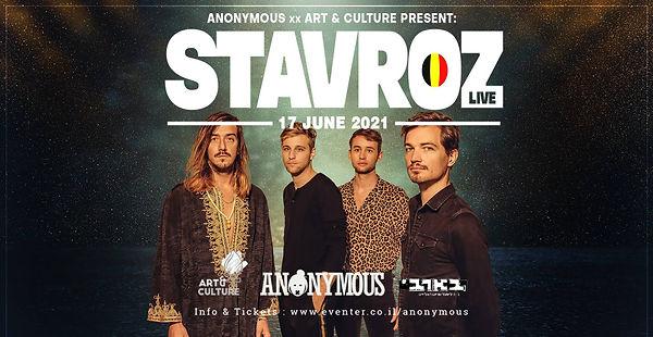 Anonymous X Art & Culture Present STAVRO