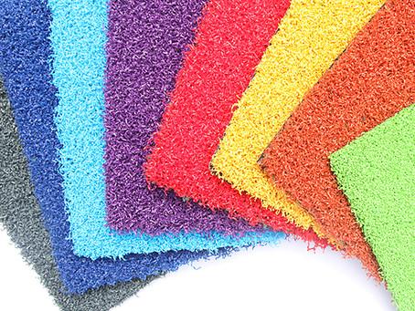 Bright Coloured Artificial Grass