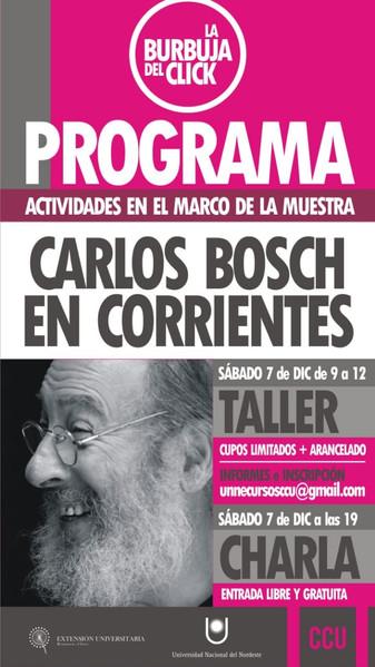 Carlos Bosch en Corrientes