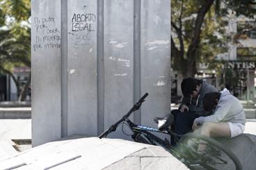 Los graffitis y ellos
